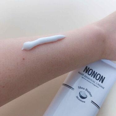 NONON/NONON(ノンノン)/除毛クリームを使ったクチコミ(3枚目)