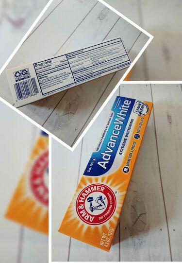 AdvanceWhite/Arm & Hammer/歯磨き粉を使ったクチコミ(1枚目)
