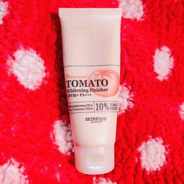 プレミアムトマト ブライトニング フィニッシャー/SKINFOOD/化粧下地を使ったクチコミ(1枚目)