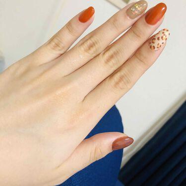 たかし on LIPS 「秋ネイルいちばんかわいい季節#セルフネイル#セルフジェルネイル..」(3枚目)
