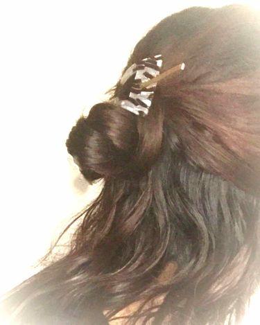 ふらんきんせんす(ふらん)イエベ秋/agm盛り上げ隊 on LIPS 「ハーフアップお団子ヘアアレンジです。まず両サイドの髪を後ろで1..」(1枚目)