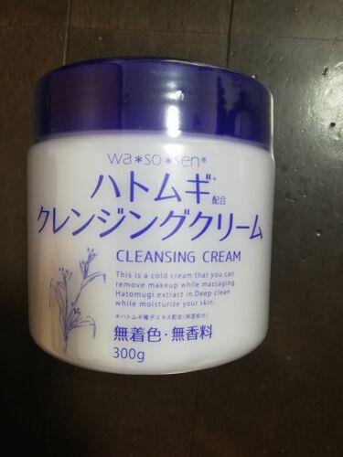 ハトムギクレンジングクリーム/wa*so*sen/クレンジングクリームを使ったクチコミ(1枚目)