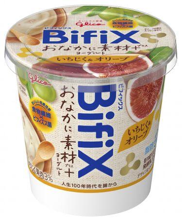 BIFIXおなかに素材+ヨーグルト  いちじく&オリーブ グリコ