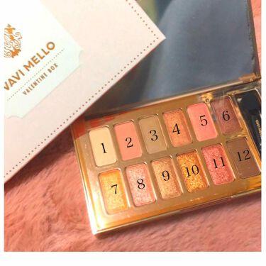 25さんの「VAVI MELLO(バビメロ)バレンタインボックス<パウダーアイシャドウ>」を含むクチコミ