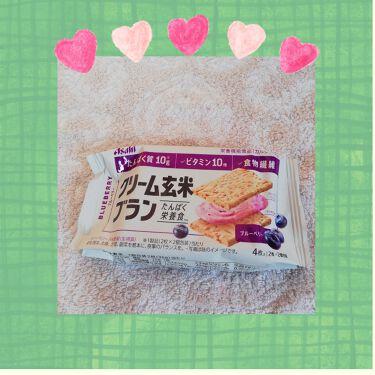 バランスアップ クリーム玄米ブラン ブルーベリー/アサヒフードアンドヘルスケア/食品を使ったクチコミ(1枚目)