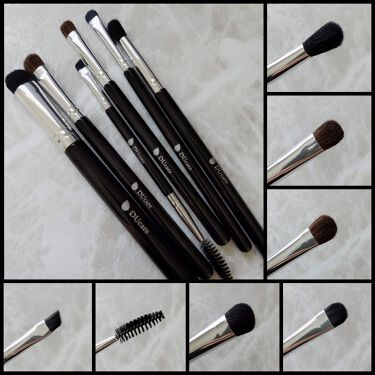 6 Pieaces Eye Makeup Brush Set DUcare