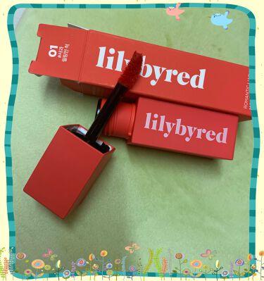 ムードライアー ベルベットティント(MOOD LIAR VELVET TINT)/lilybyred/口紅を使ったクチコミ(3枚目)