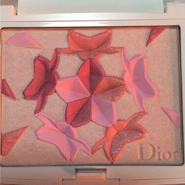 スノー ブラッシュ&ブルーム パウダー/Dior/パウダーチークを使ったクチコミ(1枚目)