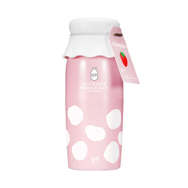 MILK BUBBLE ESSENCE PACK #STRAWBERRY G9 SKIN