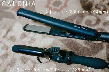 SALONIA ストレートアイロン/SALONIA/ヘアケア美容家電を使ったクチコミ(1枚目)