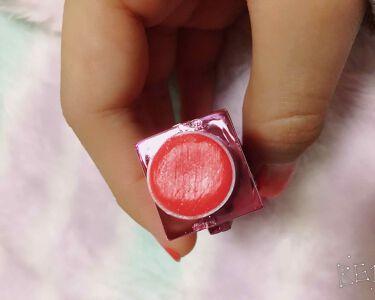 PEZリップクリームカラーラブリータイム/プラザ/口紅を使ったクチコミ(2枚目)