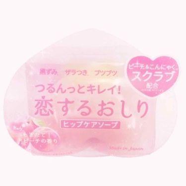 ㅤさんの「ペリカン石鹸恋するおしり ヒップケアソープ<バストアップ・ヒップケア>」を含むクチコミ