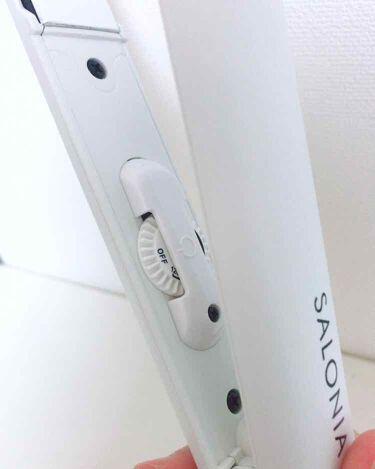 SALONIA ストレートアイロン/SALONIA/ヘアケア美容家電を使ったクチコミ(2枚目)