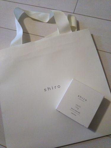 練り香水 サボン/shiro (シロ)/香水(その他)を使ったクチコミ(1枚目)