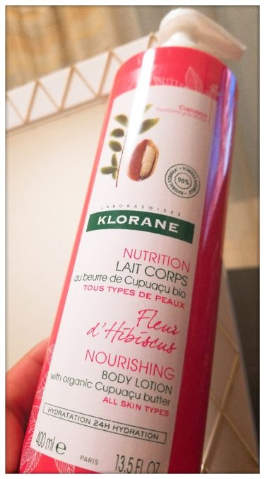 KLORANE  Hibiscus Flower Body Lotion with Cupuacu Butter/KLORANE(クロラーヌ)/ボディローション・ミルクを使ったクチコミ(2枚目)