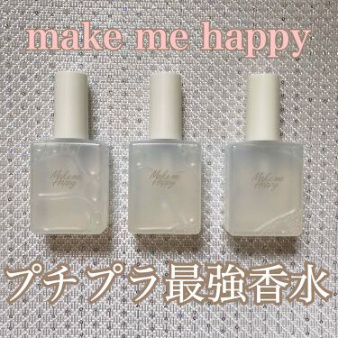 メイクミーハッピー フレグランスウォーター/CANMAKE/香水(レディース)を使ったクチコミ(1枚目)