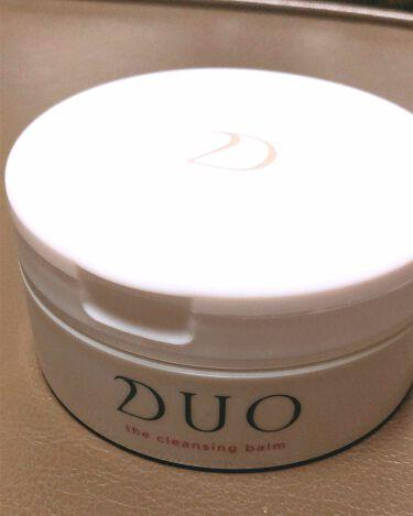 デュオ ザ クレンジングバーム/DUO/クレンジングバームを使ったクチコミ(1枚目)