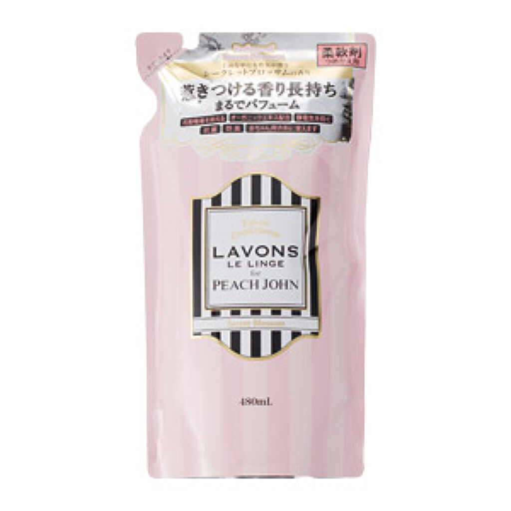 柔軟剤 シークレットブロッサムの香り 詰め替え 480ml