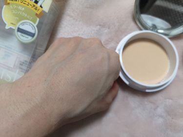 フェイスパウダー ハイカバー  白肌オークル/クリアラスト/プレストパウダーを使ったクチコミ(4枚目)