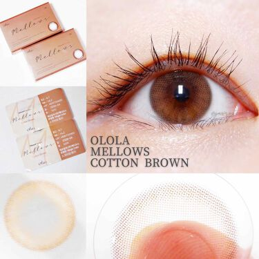 メローズ(Mellows)/OLOLA/カラーコンタクトレンズを使ったクチコミ(2枚目)