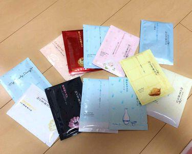 ゆんそんみ💘さんの「我的美麗日記(私のきれい日記)黒真珠マスク<シートマスク・パック>」を含むクチコミ