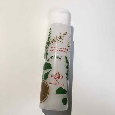 ハーバルオールインワン ダブルエッセンス/Ruam Ruam(ルアンルアン)/オールインワン化粧品を使ったクチコミ(2枚目)