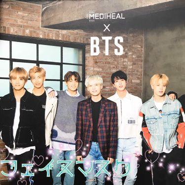メディヒール x BTS スペシャル セット /MEDIHEAL/シートマスク・パックを使ったクチコミ(1枚目)