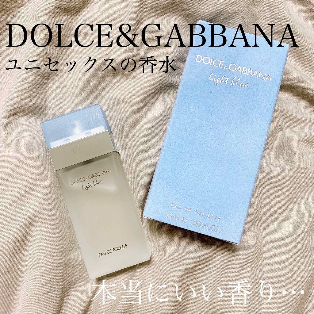 ドルチェ & ガッバーナ 香水 匂い