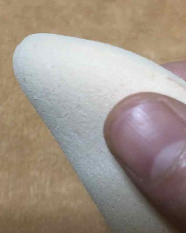 シフォンタッチスポンジ ダイヤ型/ロージーローザ/パフ・スポンジを使ったクチコミ(3枚目)
