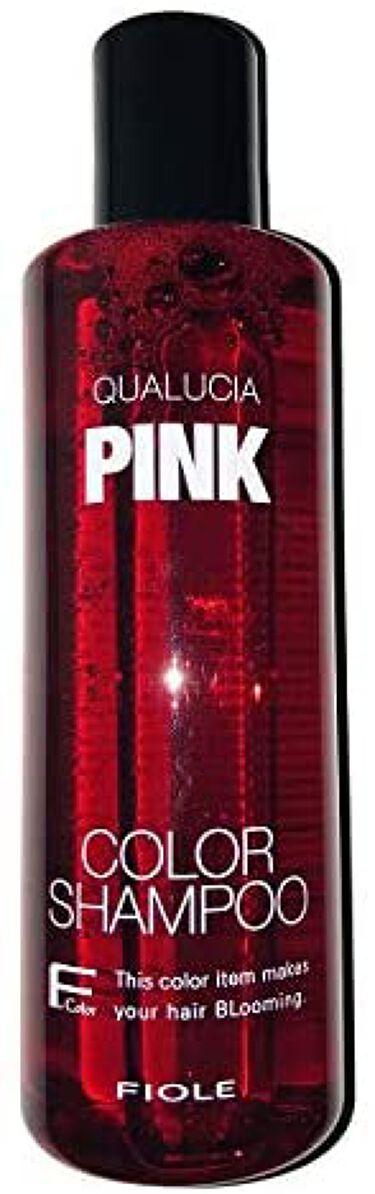 クオルシア カラーシャンプー ピンク
