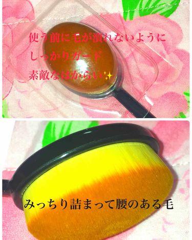 歯ブラシ型メイクブラシ/セリア/その他化粧小物を使ったクチコミ(2枚目)
