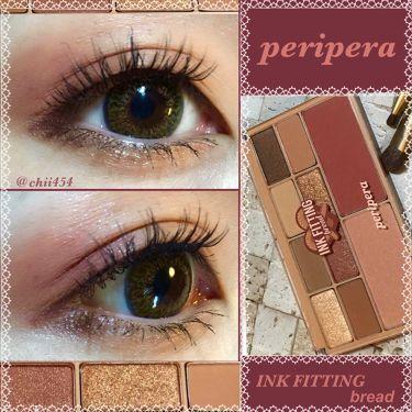 インク フィッティング カラー パレット/PERIPERA/パウダーアイシャドウを使ったクチコミ(1枚目)