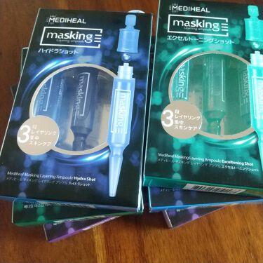 マスキング レイアリング アンプル /MEDIHEAL/美容液を使ったクチコミ(2枚目)