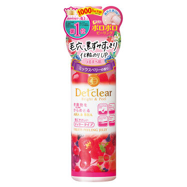 DETクリア ブライト&ピール ピーリングジェリー <ミックスベリーの香り> 明色化粧品