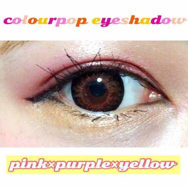 colorpop/ColourPop/パウダーアイシャドウを使ったクチコミ(3枚目)