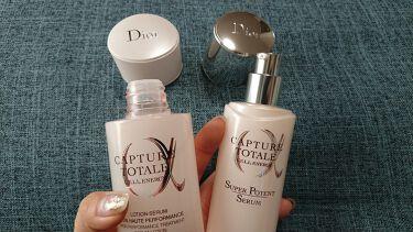 カプチュール トータル インテンシブ ナイトクリーム/Dior/フェイスクリームを使ったクチコミ(3枚目)