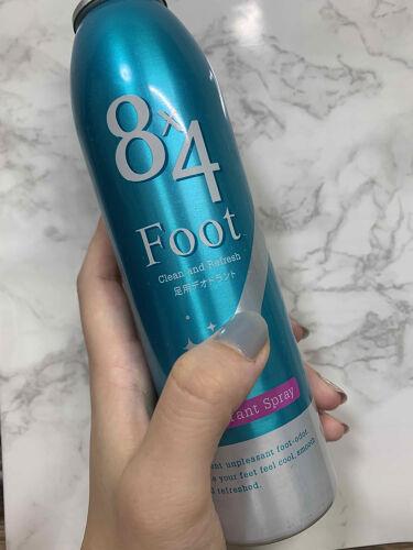 【画像付きクチコミ】【足の匂いが気になる、、】寒くなってからも、足の匂いは気になりますよね、、ーーーーーーーーーーーーーーーーーーーー8x4フットスプレー→・手軽にかけたい時にかけられる。・タイツや靴下の上からでも大丈夫。・効果は長時間持続しない。・匂い...