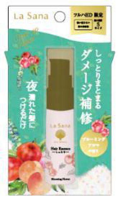 海藻 ヘア エッセンス しっとり ブルーミングアロマの香り ラサーナ