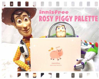 innisfree ROSY PIGGY PALATTE/innisfree/パウダーアイシャドウを使ったクチコミ(1枚目)