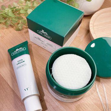 VT CICA マイルドトナーパッド/VT Cosmetics/シートマスク・パックを使ったクチコミ(6枚目)