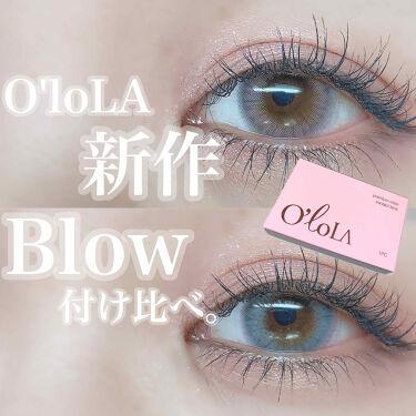 ブロー(Blow)/OLOLA/カラーコンタクトレンズを使ったクチコミ(1枚目)