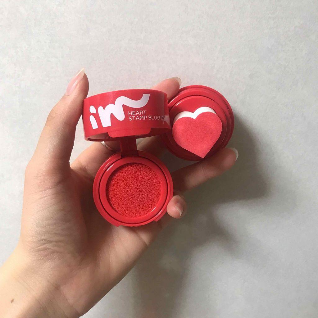 I'm heart stamp brusher/I'MMEME/ジェル・クリームチークを使ったクチコミ(2枚目)