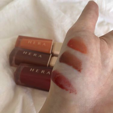 センシュアルスパイシーヌードグロス/HERA/リップグロスを使ったクチコミ(2枚目)