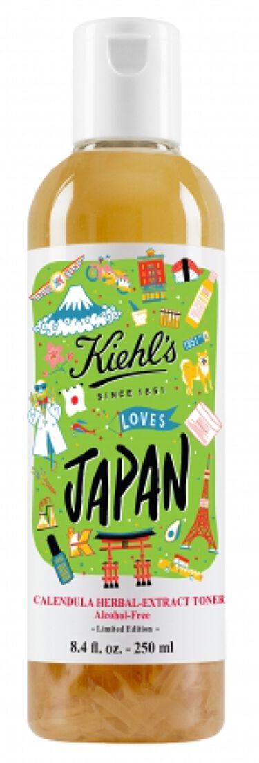 キールズ ハーバル トナー CL アルコールフリー Kiehl's LOVES JAPAN 限定エディション 250ml