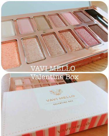 バレンタインボックス/VAVI MELLO(バビメロ)/パウダーアイシャドウを使ったクチコミ(1枚目)