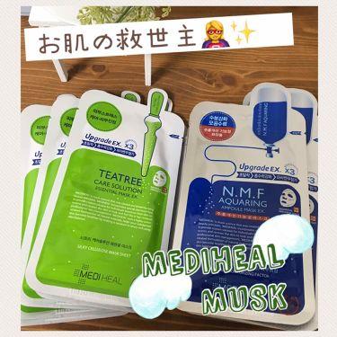 N.M.FアクアアンプルマスクJEX/MEDIHEAL/シートマスク・パックを使ったクチコミ(1枚目)