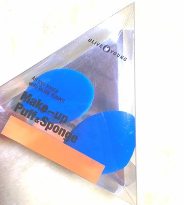make-up puff&sponge/Olive Young/その他を使ったクチコミ(1枚目)