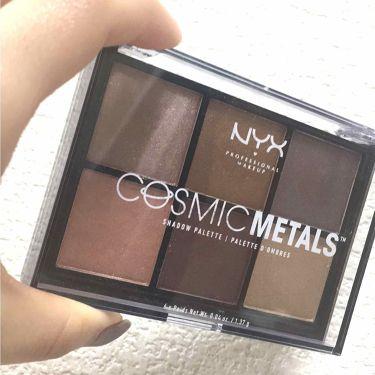 NYX Professional Makeup コスミックメタル シャドウ パレット