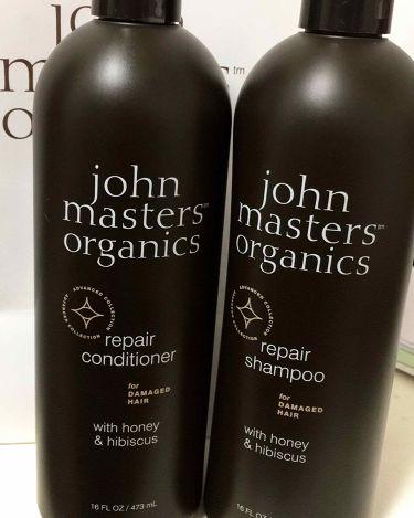 H&Hリペアシャンプー N/john masters organics/シャンプー・コンディショナーを使ったクチコミ(1枚目)