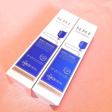 N.M.F アクアリング エフェクト トナー/MEDIHEAL/化粧水を使ったクチコミ(1枚目)